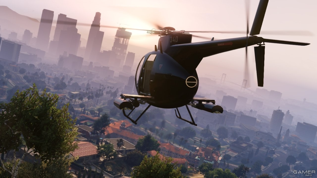 Вертолёты в GTA 5
