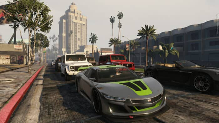 Транспорт в GTA 5