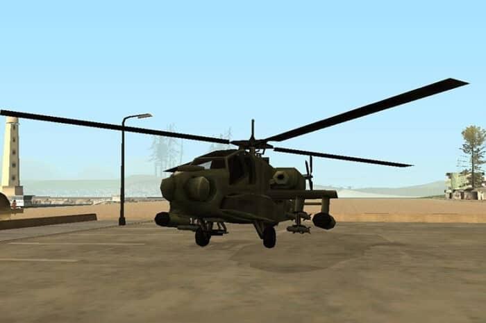 Задания на вертолете